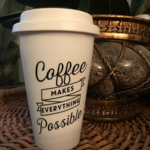 Other - 8 oz. ceramic to-go cup